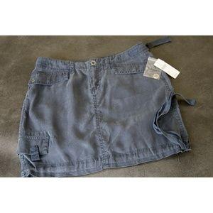Anthropologie Marrakech Skirt Sz 25 Dark Navy Grey